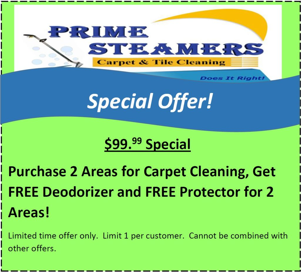 Carpet Cleaning Coupons in Coral Springs, FL | Prime Steamers